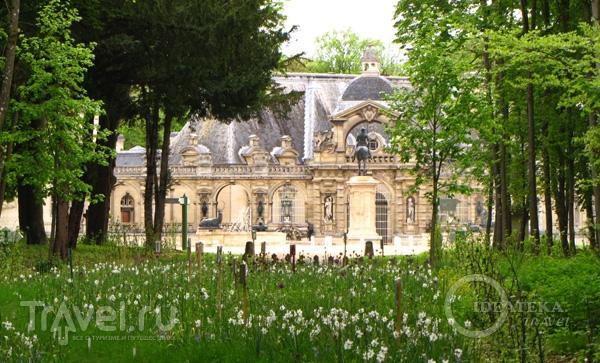 Сад замка Шантийи / Фото из Франции