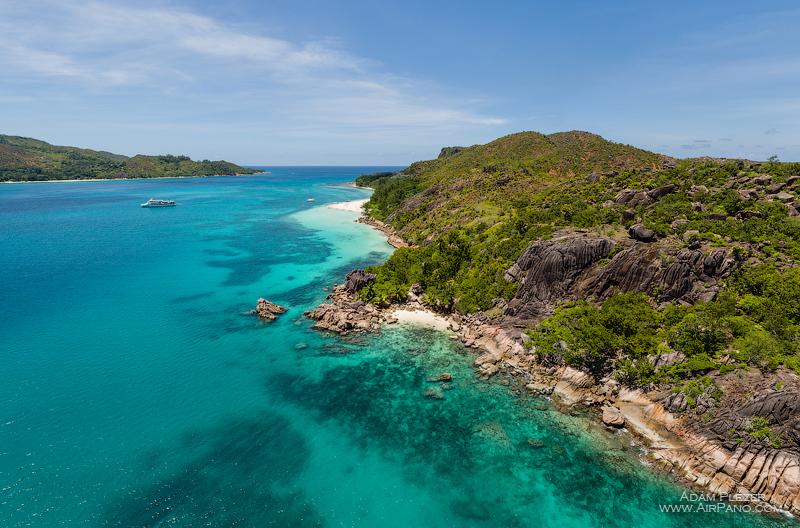 Пляж South East, остров Курьёз. Сейшельские Острова / Фото с Сейшел