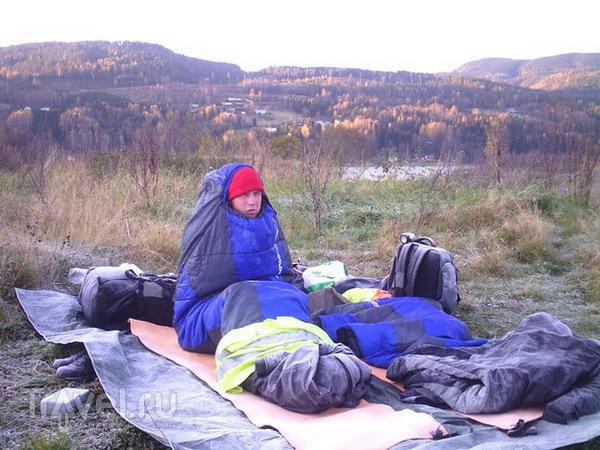 Опыт ночлегов в необычных местах / Норвегия