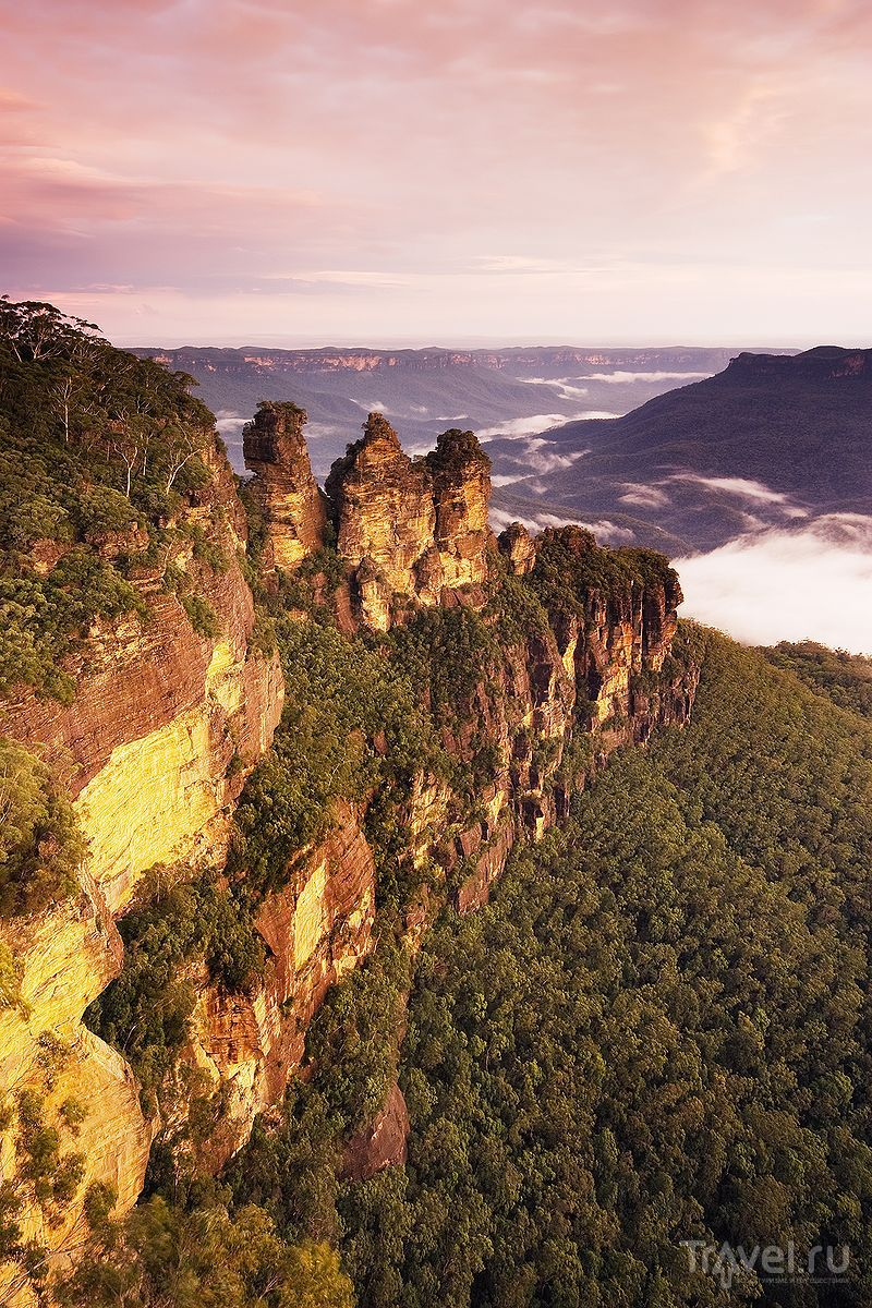 Национальный парк Blue Mountains / Австралия