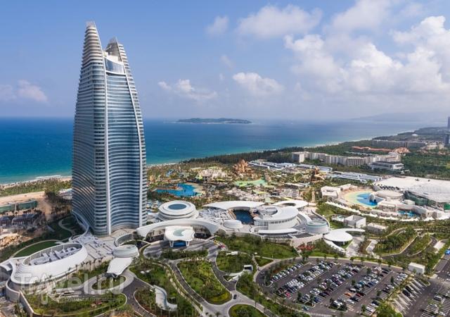 Гостинично-развлекательный комплекс Atlantis Sanya на острове Хайнань