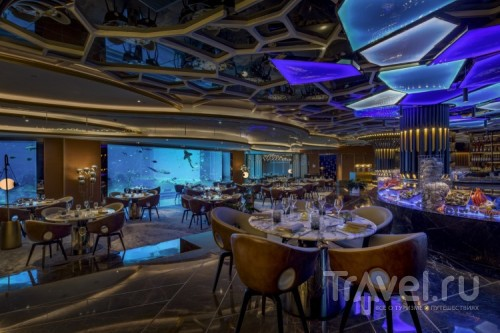 Подводный ресторан Ossiano