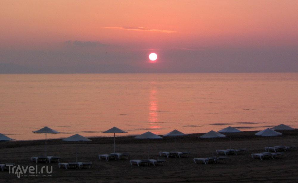 Пляж в Aldemar Olympian Village / Греция