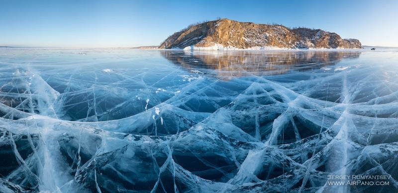 Байкал. Волшебный лед / Фото из России