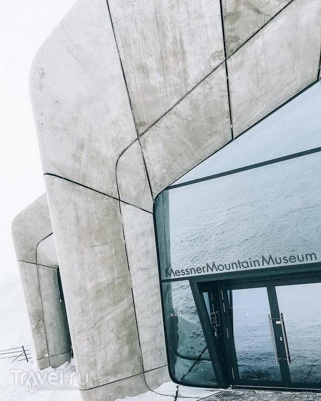 Музей Месснера на вершине Кронплатца / Фото из Италии