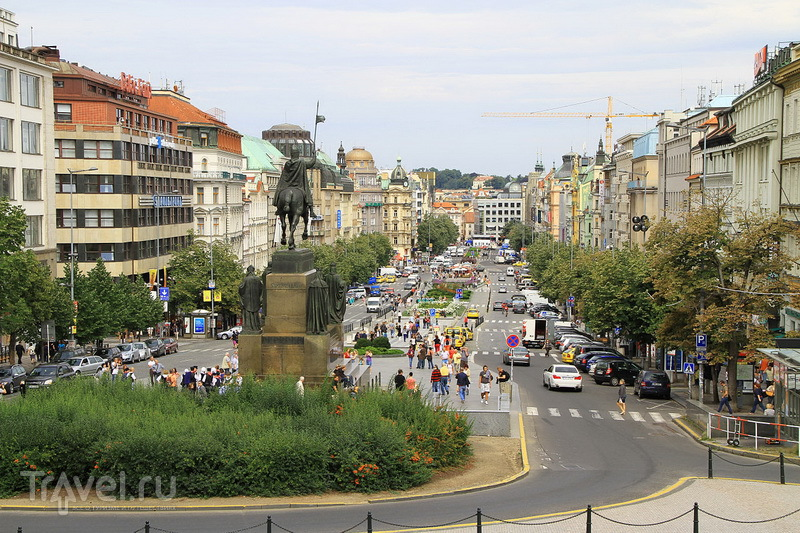 Прага, Вацлавская площадь / Чехия