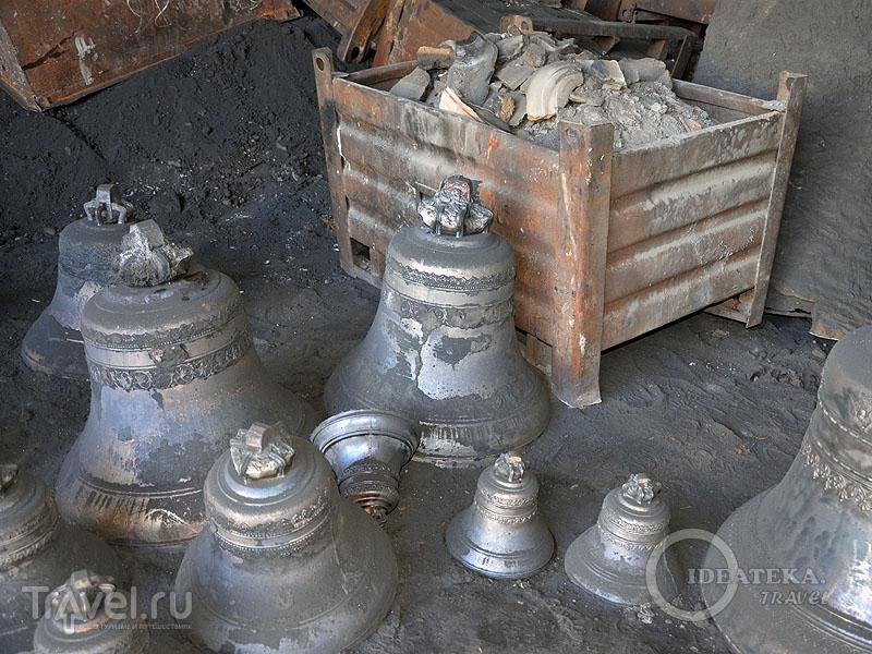 Хорошие и бракованные колокола / Фото из России