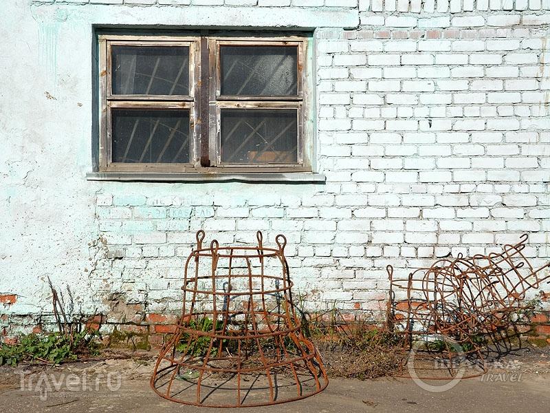 Арматура для создания колокола / Фото из России