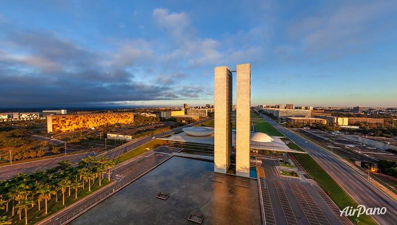 Национальный конгресс Бразилии / Фото из Бразилии