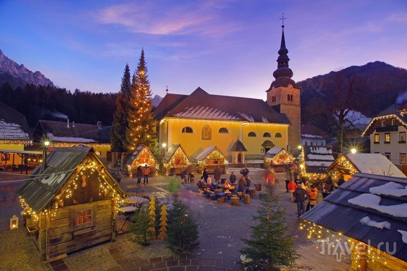 На зимние каникулы в Словению