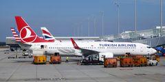 Turkish Airlines будет летать из Антальи в Санкт-Петербург