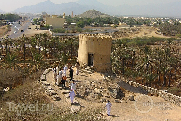 Древняя башня в Фуджейре / Фото из ОАЭ
