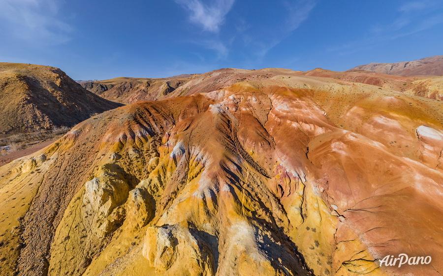 Алтай. Цветные горы Кызыл-Чина (Марс) / Фото из России
