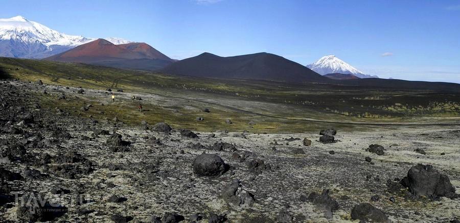 Местность в районе Северного прорыва через 35 лет после извержения / Россия